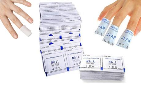 Envolturas de eliminación de esmalte de gel UV