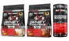 Six Star Whey Protein Plus Chocolate or Vanilla and Test Booster