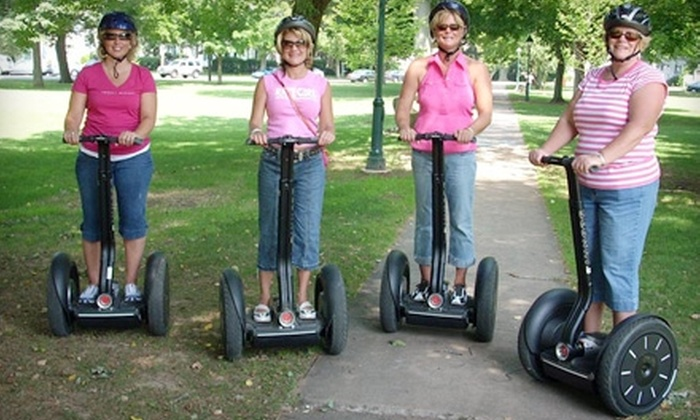 Shoreline Segway - Guilford: $35 for a 90-Minute Segway Tour with Shoreline Segway ($70 Value) in Guilford