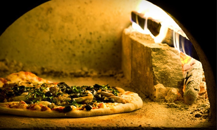 Miami Cafe - Downtown Phoenix: Brick-Oven Pizza Dinner for Two or $12 for $25 Worth of Pizza and Paninis at Miami Cafe