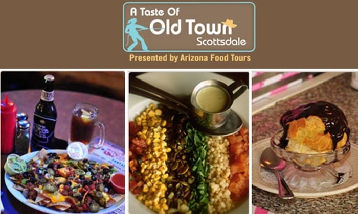 Taste of Old Town Scottsdale Tour  - Phoenix: $21 for a Taste of Old Town Scottsdale Tour ($42 Value)