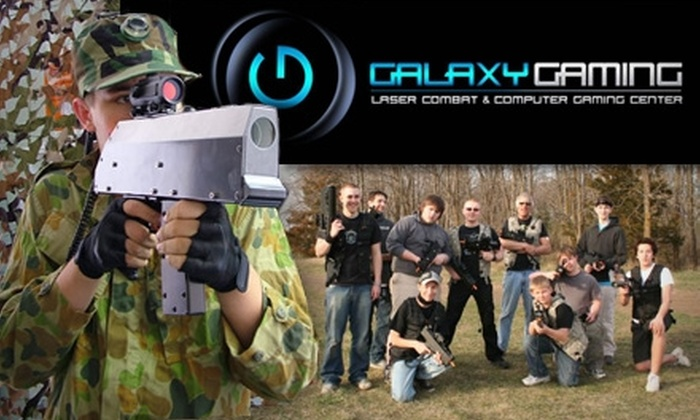 Galaxy Gaming - La Valley: $10 for Two Hours of Laser-Tag Combat at Galaxy Gaming