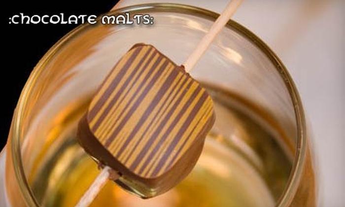 Chocolate Malts: Sweetheart Chocolate Box from Chocolate Malts. Choose Between Two Options.