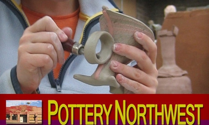 Pottery Northwest - Lower Queen Anne: $35 for Introductory Clay Class at Pottery Northwest