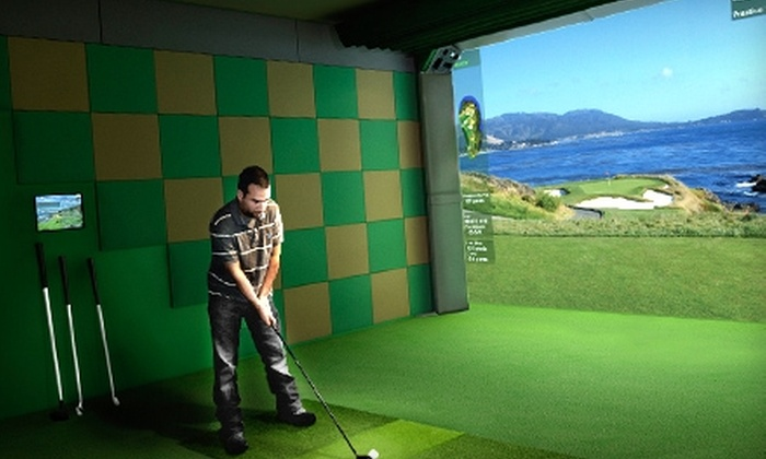 ExtremeGolf - Bridgewater: $69 for a 45-Minute Swing Analysis and Nine-Hole Simulator-Based Lesson at ExtemeGolf in Bridgewater ($199 Value)