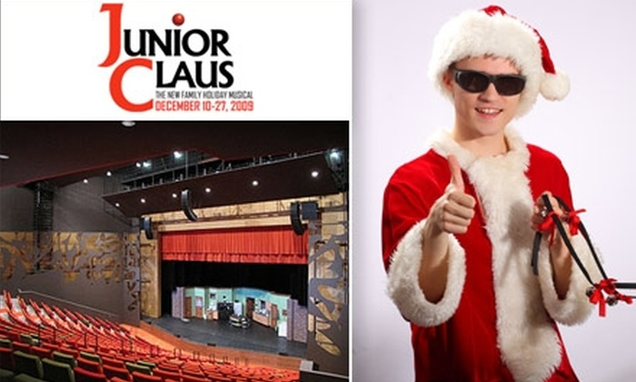"""Burnsville Performing Arts Center - Burnsville: $16 for an Adult Ticket to """"Junior Claus"""" at Burnsville Performing Arts Center ($32 Value). Buy Here for Saturday, December 12, at 7 p.m. Other Dates and Times Below."""