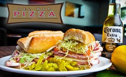 $20 Groupon to Del Mar Pizza - Del Mar Pizza in Del Mar