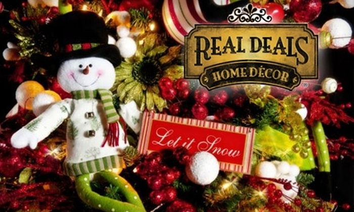 Real Deals on Home Décor - South Meadows: $12 for $25 Worth of Interior Accents and Home Trimmings at Real Deals on Home Décor