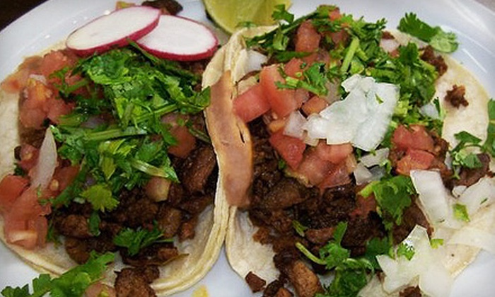 Pancho Villa Taqueria  - Multiple Locations: $5 for $10 Worth of Mexican Fare at Pancho Villa Taqueria