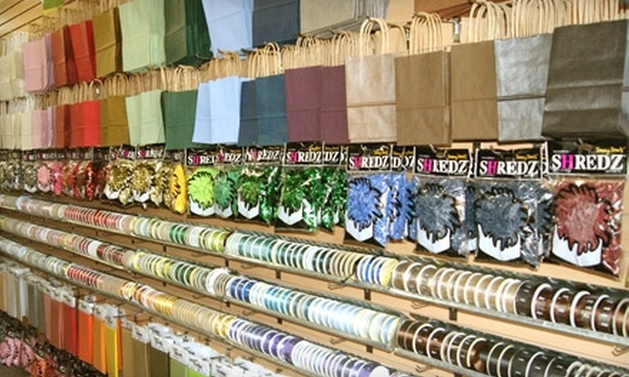 Paper Zone - Multiple Locations: $10 for $20 Worth of Card-Making and Party Supplies, Gift Wrap, and More at Paper Zone