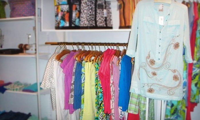 True Blue - New Canaan: $50 for $100 Worth of Women's Clothing and Accessories at True Blue in New Canaan