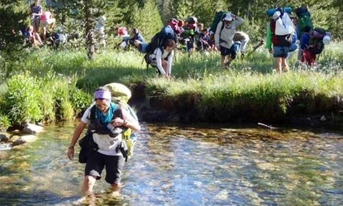 Trans-Sierra Club - Clovis: Eight-Day Wilderness Trek from the Trans-Sierra Club. Four Departure Dates Available.