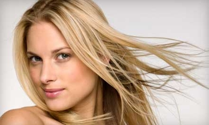 Affinity Salon - Prairie Trails West: $29 for $75 Worth of Cutting, Coloring, Waxing, and Other Salon Services at Affinity Salon in Olathe