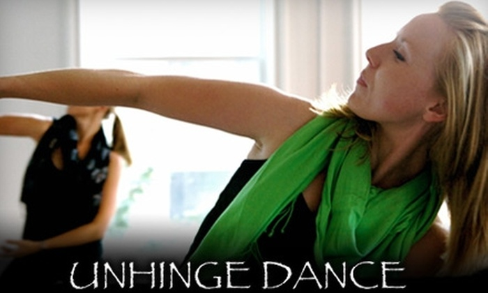 Unhinge Dance - Multiple Locations: $30 for a Six-Week Adult Beginner Dance Class at Unhinge Dance ($67 Value)