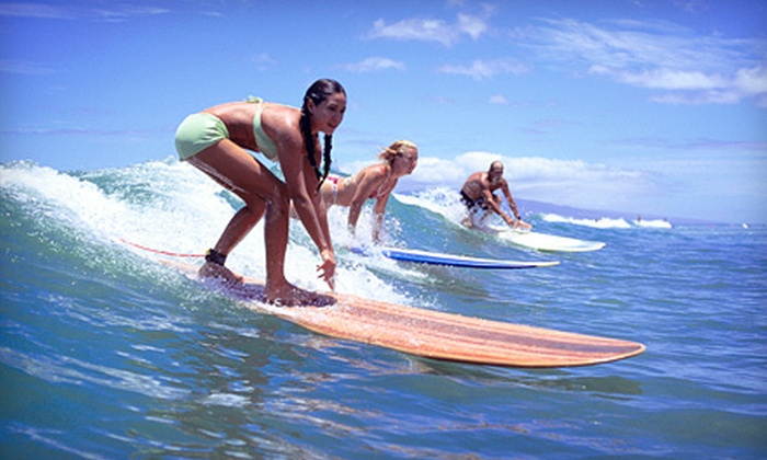 Ganouby Surf Adventures - Bolinas: Two-Hour Private Surf Lesson for One or Two from Ganouby Surf Adventures in Bolinas (Up to 56% Off)
