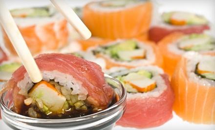 $40 Groupon to Sushiya Japanese Restaurant and Bar - Sushiya Japanese Restaurant and Bar in Riverside