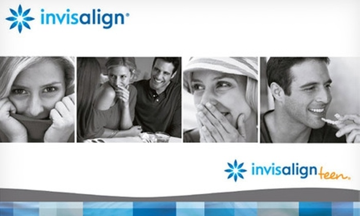 Invisalign - Multiple Locations: $49 for Initial Invisalign Exam, X-Rays, Impressions, and Basic Cleaning ($470 Value), Plus $1,100 Off Total Invisalign Treatment Cost at One of Four Cosmetic and Orthodontic Offices