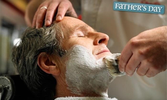 Club Men Barbershop & Spa - Kensington: $30 for Royal Shave, Including Haircut, at Club Men Barbershop & Spa in Coral Springs ($50 Value)