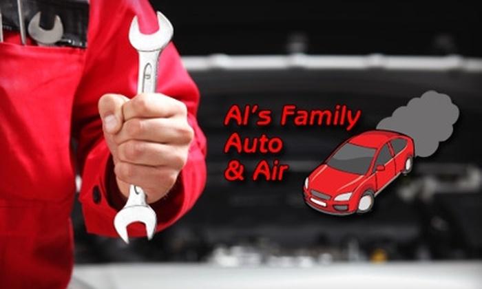 Al's Family Auto & Air - Ocala: $20 for an Oil Change and Tire Rotation at Al's Family Auto & Air ($42 Value)
