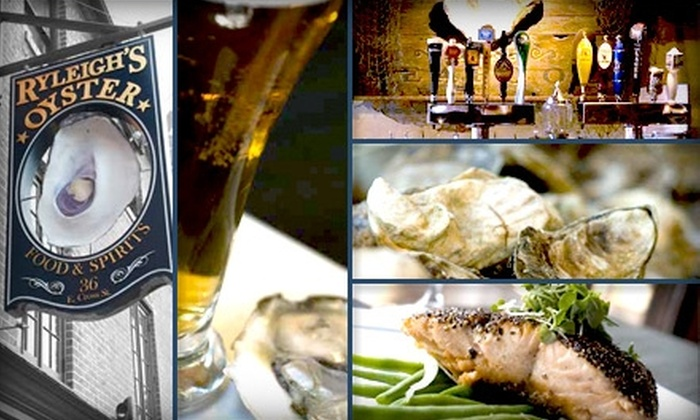 Ryleigh's Oyster - Federal Hill-Montgomery: $25 for $50 Worth of Sips and Savories at Ryleigh's Oyster