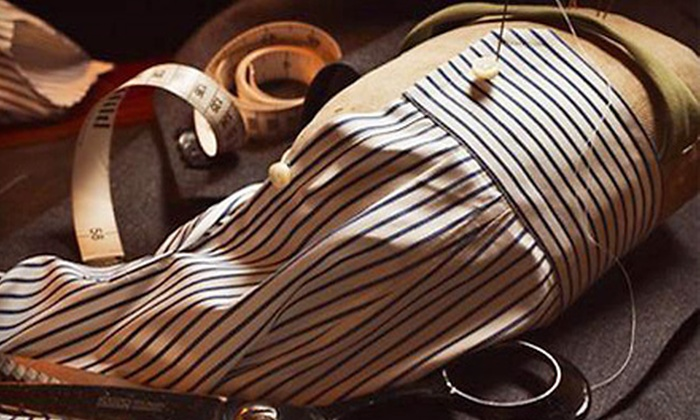 Giuseppe's Custom Clothiers - Multiple Locations: Bespoke Dress Shirt at Giuseppe's Custom Clothiers. Two Options Available