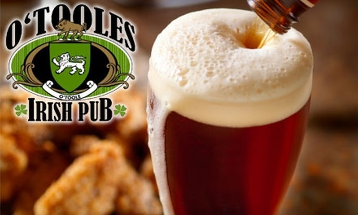O'Toole's Restaurant and Pub - Forest Hill Terrace: $10 for $20 Worth of Irish Pub Fare and Drinks at O'Toole's Restaurant and Pub