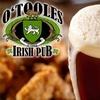 $10 for Pub Fare at O'Toole's
