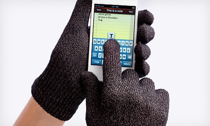 Smart Phone Gloves: $15 for a Pair of Agloves Sport or Agloves Bamboo Touchscreen Gloves. Shipping Included ($26.99 Total Value). Ships in 10 Business Days. May Not Arrive By 12/24.