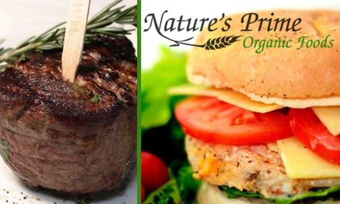 Nature's Prime Organic Foods - Sioux Falls: $35 for $75 Worth of Home-Delivered Organic Food from Nature's Prime Organic Foods