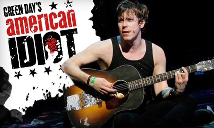 """American Idiot"" - Theater District - Times Square: $65 for Admission to ""American Idiot"" at the St. James Theatre on Broadway. Choose from Five Performances."