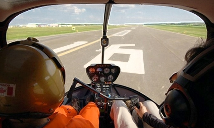 Synergy Aviation - Edmonton: $59 for a Half-Hour Helicopter Simulation at E-Z Air Helicopter Services ($125 Value)