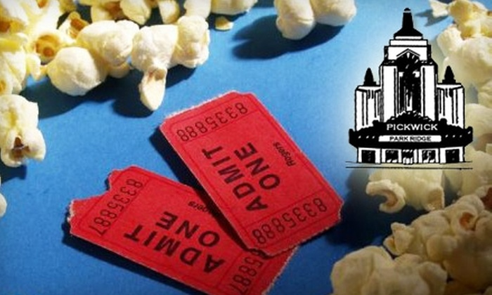 Pickwick Theatre - Park Ridge: $14 for Two General-Admission Movie Tickets, One Large Popcorn, and Two Large Fountain Drinks at the Pickwick Theatre in Park Ridge (Up to $28 Value)