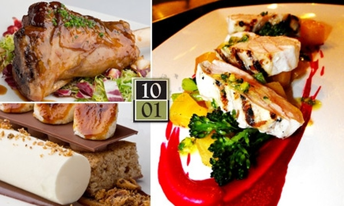 Ten 01 - Pearl: $15 for $32 Worth of Upscale New American Cuisine and Drinks at Ten 01