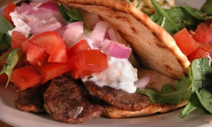 Little Village Grill - Charlotte: $5 for $10 Worth of Greek Fare at Little Village Grill