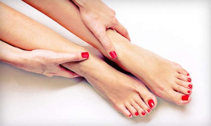 A Gentle Touch - North Raleigh: Mani-Pedi at A Gentle Touch (Up to 55% Off). Three Options Available.