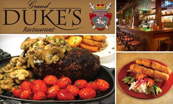 Grand Duke's Restaurant - Summit: $15 for $30 Worth of Lithuanian Cuisine at Grand Duke's Restaurant in Summit