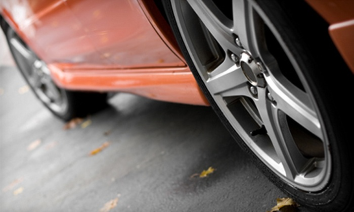 Becker Tire and Service Center - Multiple Locations: $35 for $100 Worth of Tires, Installation, and Automotive Care at Becker Tire and Service Center
