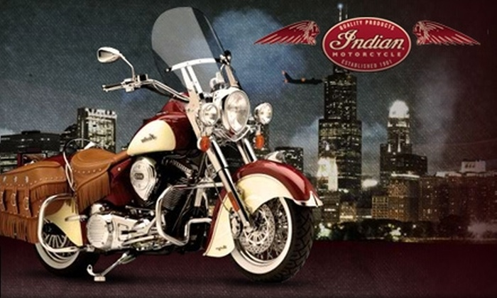 Indian Motorcycles of Chicago - South Elgin: $25 for $100 Worth of Labor at Indian Motorcycles of Chicago in South Elgin