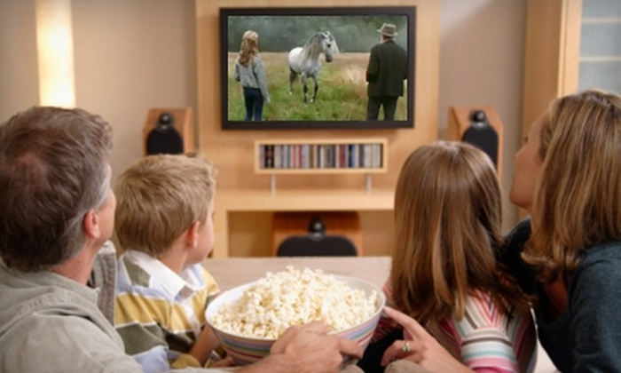 Family Values Cinema: $10 for One Family Movie DVD Package With Four Family Movies, Discussion Guide, Activity, and Movie-Inspired Recipe from Family Values Cinema ($26.80 Value)
