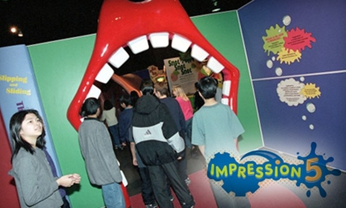 Impression 5 Science Center - The Stadium District: $10 for a Family Four-Pack at Impression 5 Science Center (Up to $20 Value)