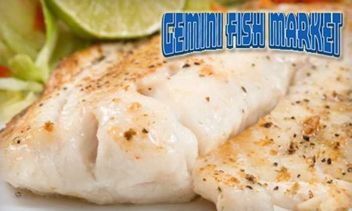 Gemini Fish Market - Newport: $10 for $20 Worth of Fresh Seafood at Gemini Fish Market