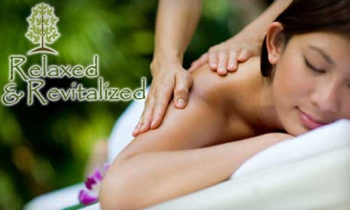 Relaxed & Revitalized - Bullard: $32 for a 60-Minute Massage or Pranic Healing Session at Relaxed & Revitalized ($65 Value)