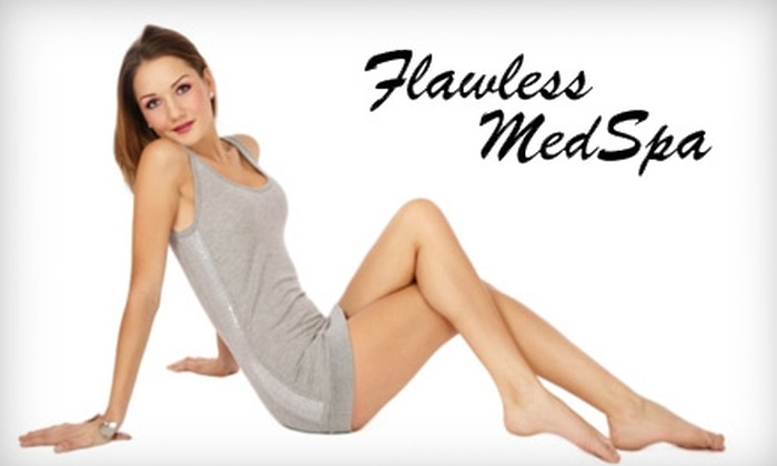 Flawless MedSpa - Stoneham: $99 for Three Sessions of Laser Hair Removal or Laser Vein Removal at Flawless MedSpa in Stoneham (Up to $375 Value). Choose Between Two Options.