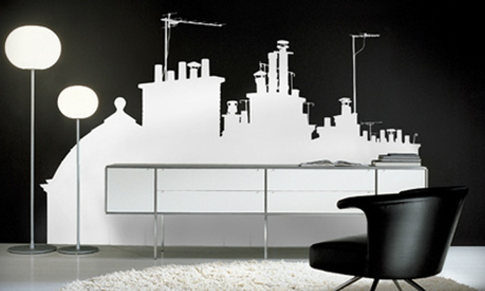 Voilà Stickers: $39 for $90 Worth of Vinyl Wall-Art Stickers from Voilà Stickers