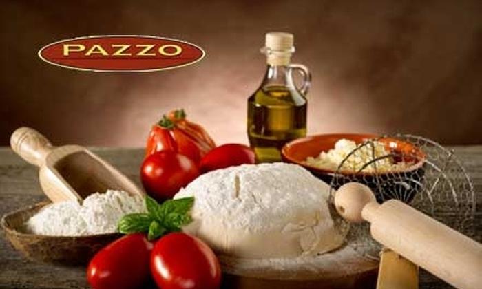 Pazzo Ristorante - South End: $10 for $20 Worth of Lunch, or $20 for $40 Worth of Italian Dinner Fare at Pazzo Ristorante
