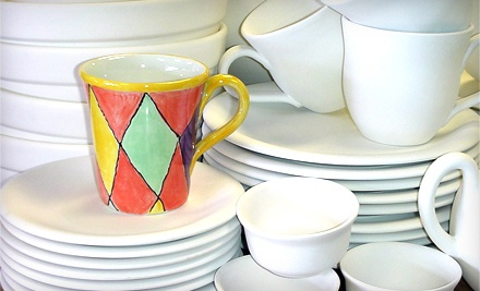 Single-Day Studio Session and $10 Toward Pottery (a $20 value) - The Pottery Piazza in Plainville