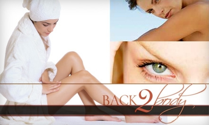 Back 2 Body - Leawood: $20 for $45 Worth of Spa Services at Back 2 Body