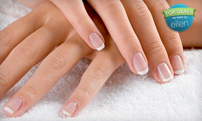 Affinity Hair & Nails, LLC - Topeka: Shellac Manicure, Classic Pedicure, or Full Set of Acrylic Nails at Affinity Hair & Nails, LLC (Up to 55% Off)