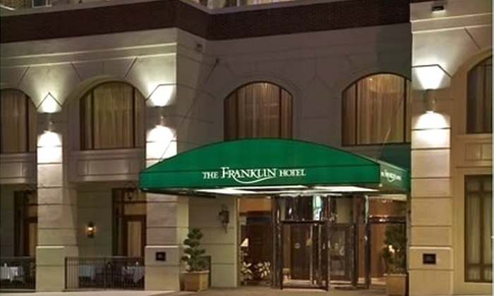 The Franklin Hotel - Downtown Chapel Hill: $180 for a One Night Romantic Getaway Package at The Franklin Hotel in Chapel Hill ($410 Value)