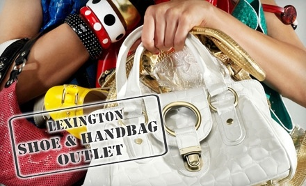 $50 Groupon to Lexington Shoe and Handbag Outlet - Lexington Shoe and Handbag Outlet in Lexington
